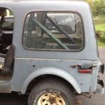 Rear Driver Panel